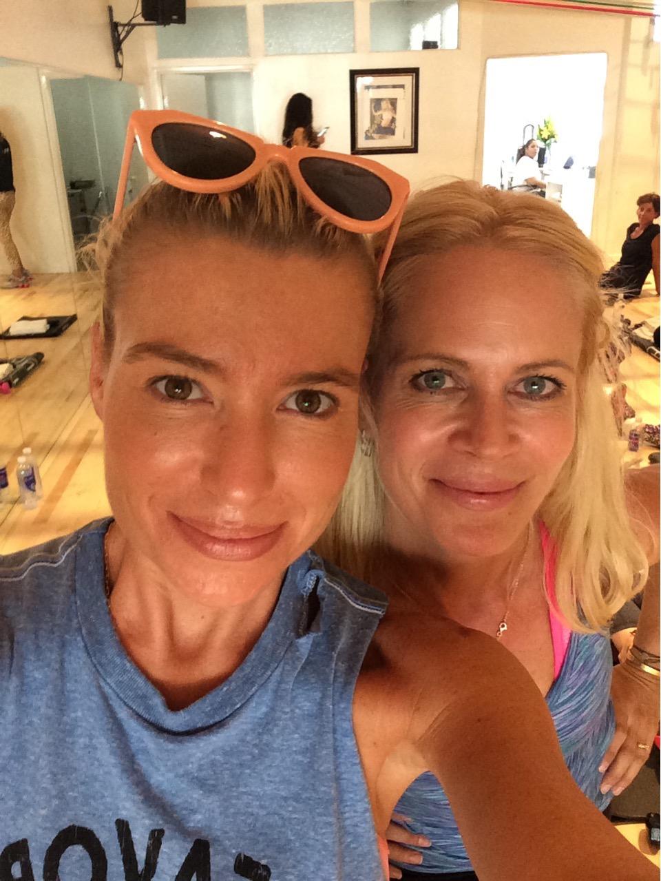 Tracy Anderson og jeg