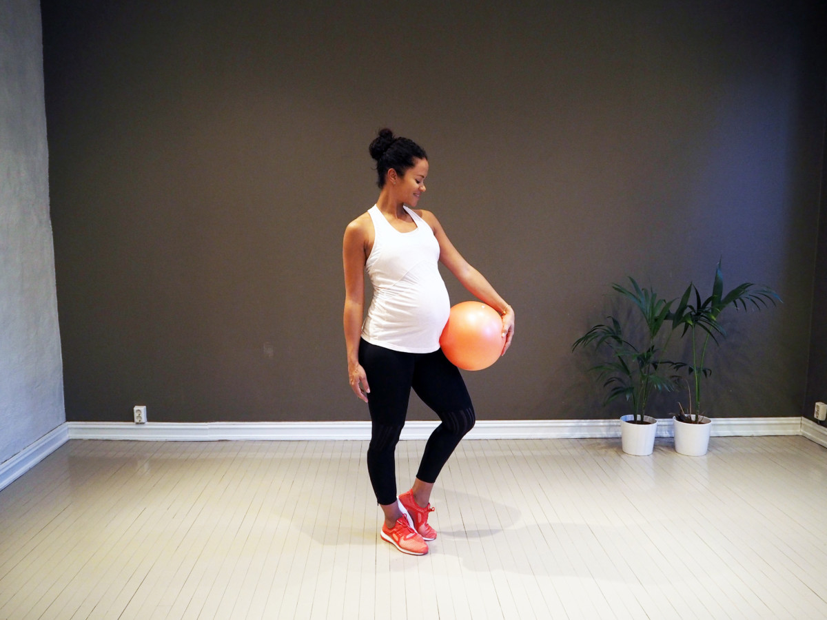cfabf42c Silvanys favoritt gravid øvelser | Monica Øien